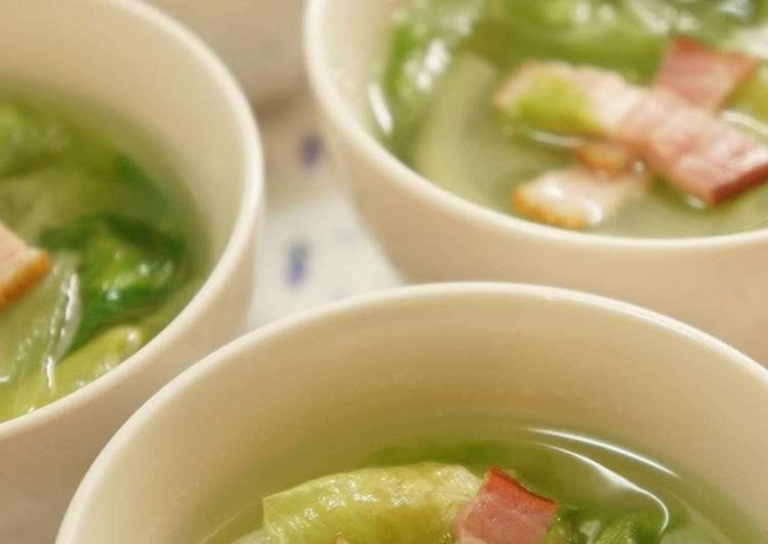 Speedy Lettuce Soup