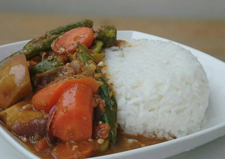 Vegetarian Japanese Curry Rice