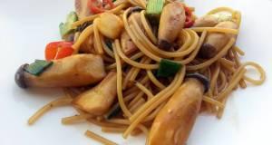 Spaghetti With Mushroom