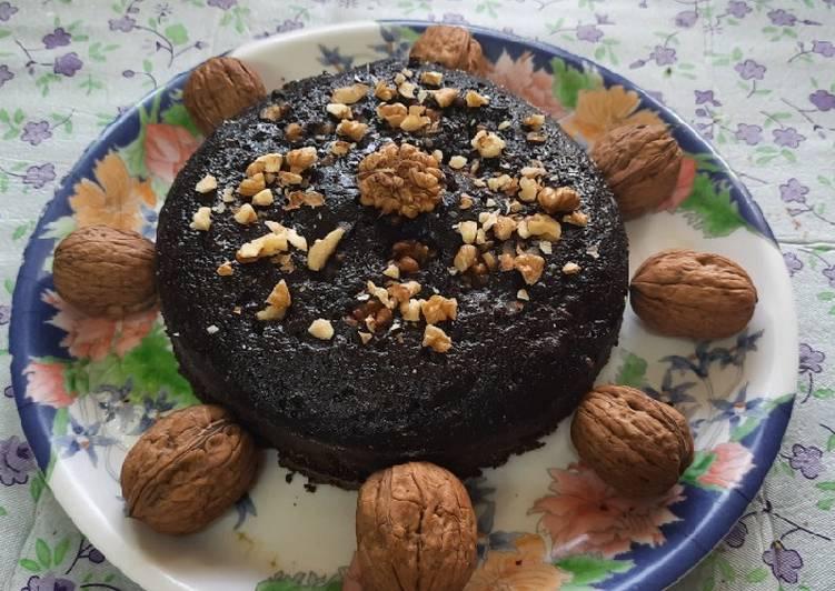 Walnut chocolate premix cake