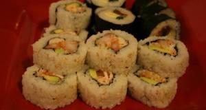 California Roll With Shrimp