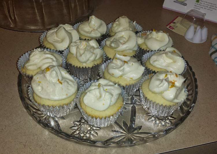 Easiest Way to Make Homemade Orange Cream Cupcakes