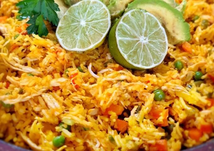 Der einfachste Weg Um Preisgekrönte Arroz con pollo colombiano - Reis mit Hähnchen zuzubereiten