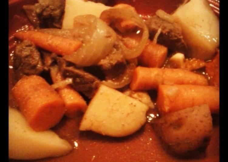 Crockpot Venison pot roast