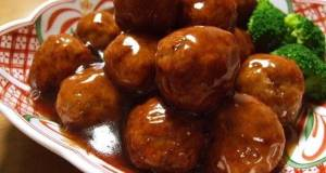Fluffy Meatball in a Great Sweet and Sour Sauce