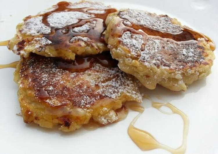 Apple Pancake / Diet Breakfast