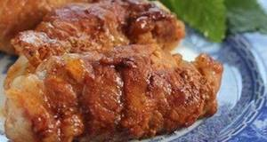 Kimchi Pork Rolls