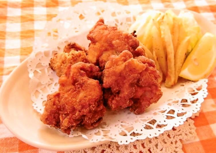 Oven Baked Karaage Chicken
