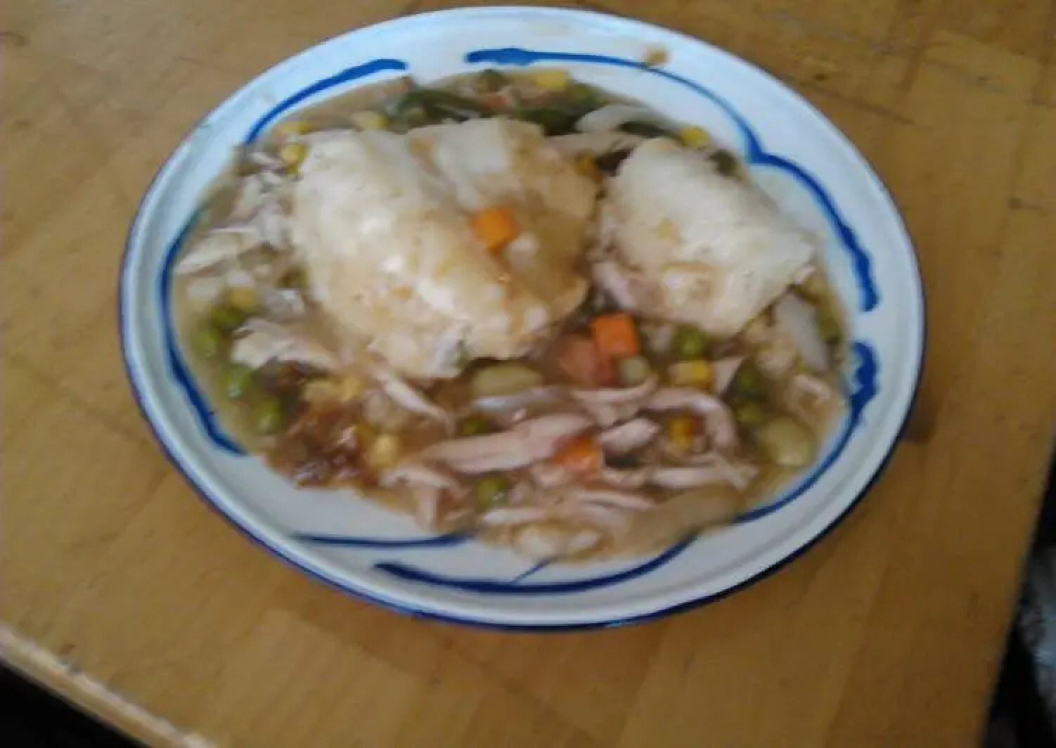 My big sister's chicken and dumplings