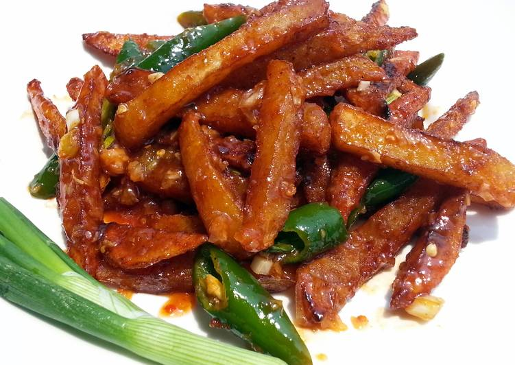 Sweet And Spicy French Fries