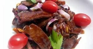Beef With Ginger In Hoisin Sauce