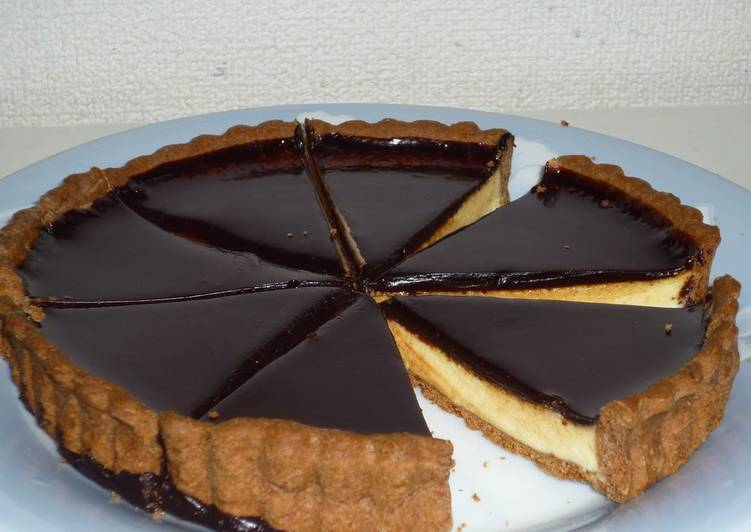 White Chocolate Tart For Valentine's Day