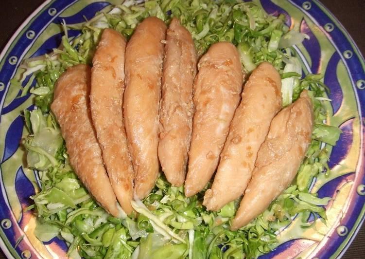 Chicken Tenders Garlic  Soy Sauce Fry