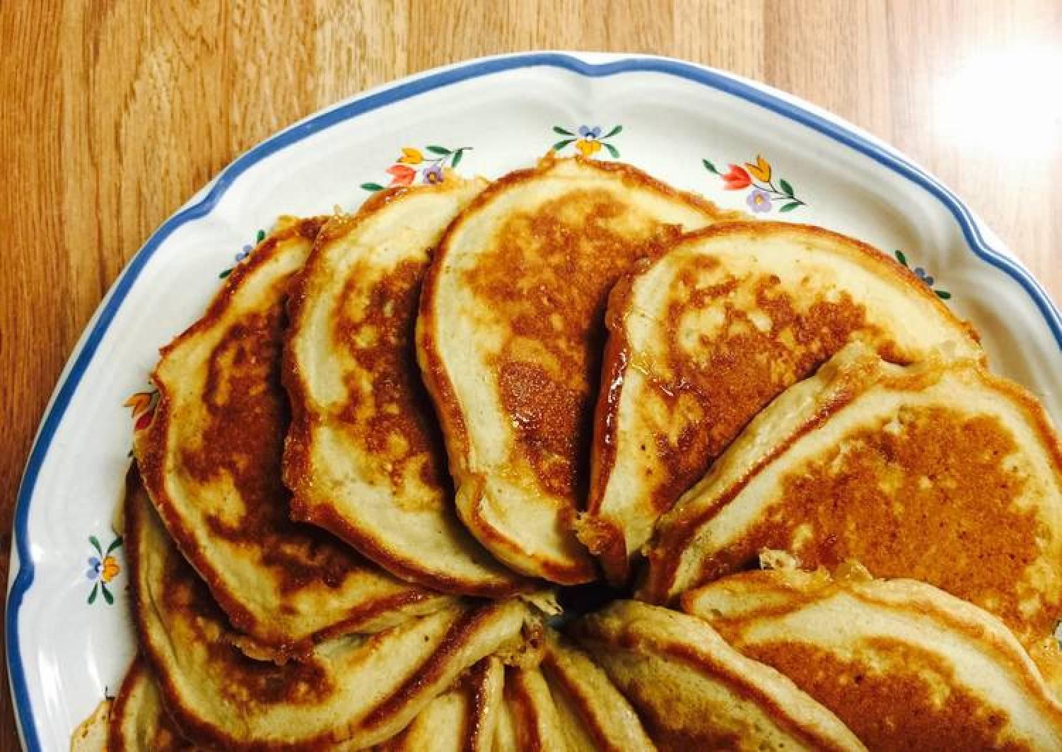 Make And Take Maple-Apple Pancakes