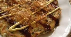 Okonomiyaki Japanese Savoury Pancake with Tofu