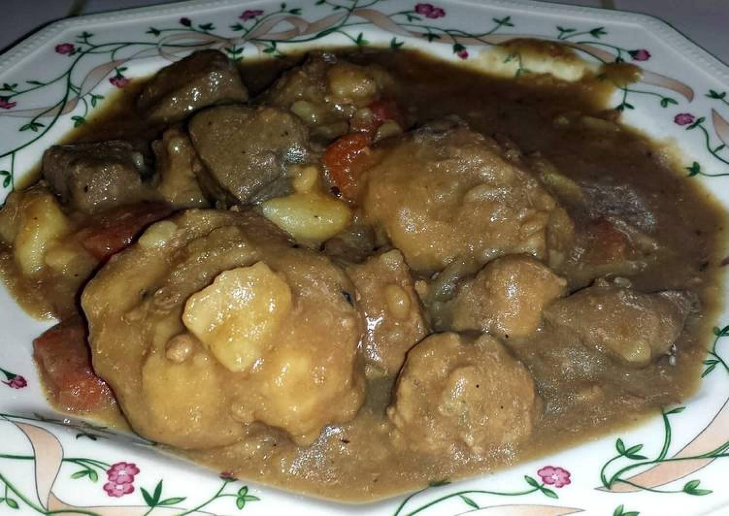 Beef and Dumpling Stew