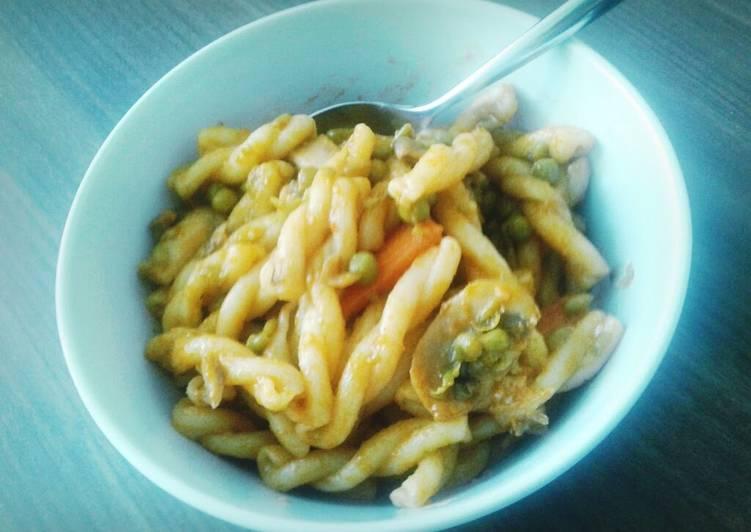 Asian Inspired Pasta