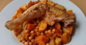 Vickys Moroccan-Style Chicken  Chickpeas GF DF EF SF NF