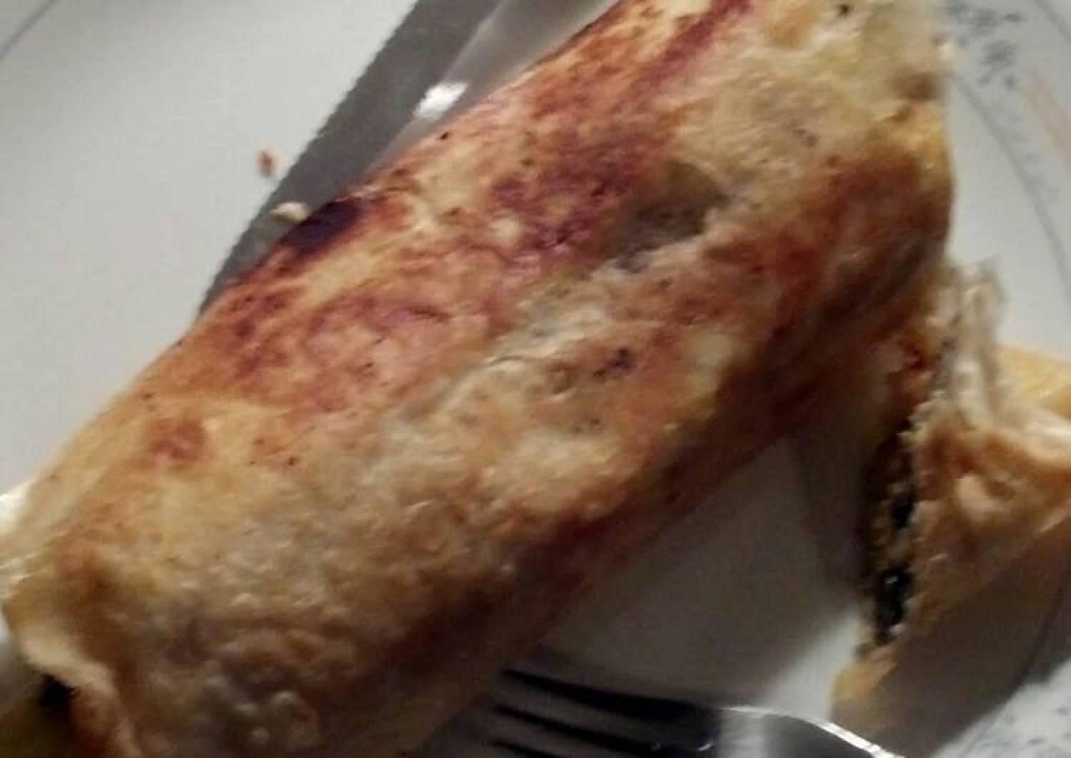 Chorizo Deer Burritos