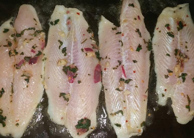 Super Simple Marinated Fish