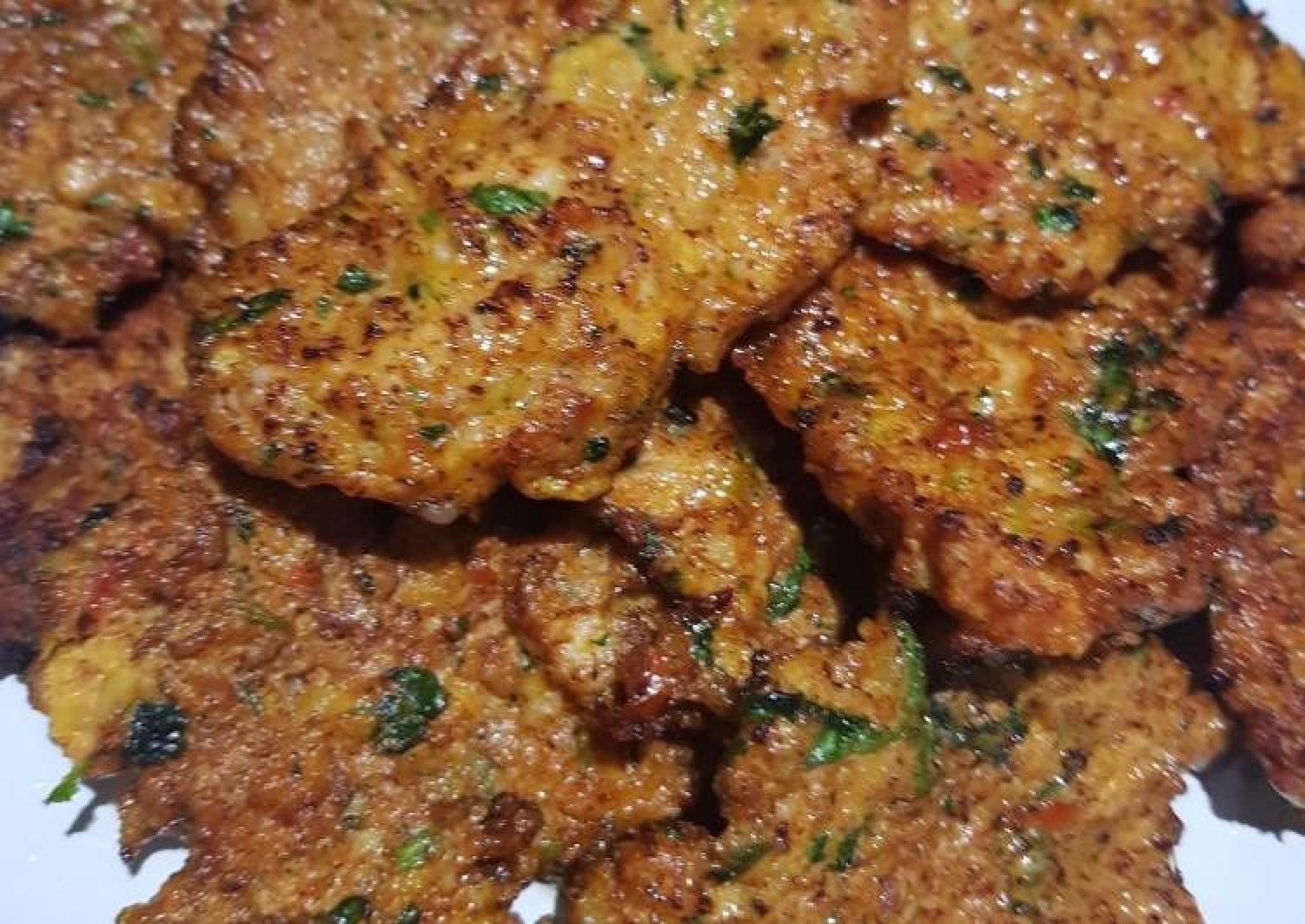 My homemade chicken kebabs (shifta)
