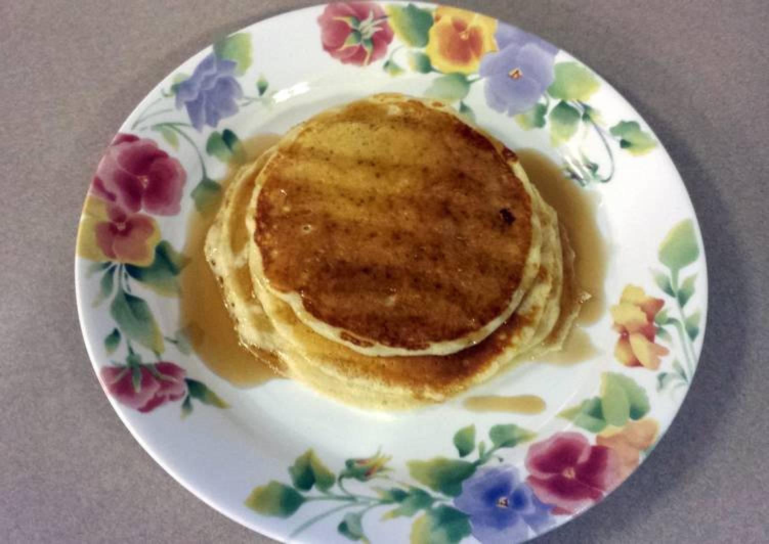 JR's buttermilk pancakes