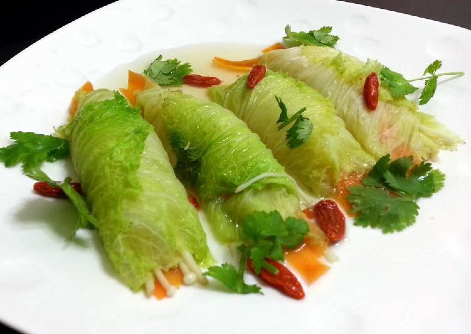 Napa Cabbage Roll