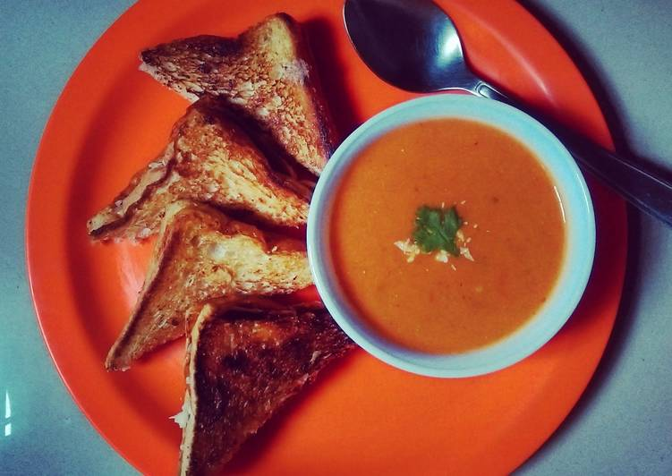 Indian Style Creamy Tomato Soup