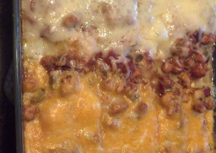 BBQ Chicken Lasagna