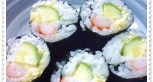 Lazy Sushi Rolls for Lunchboxes