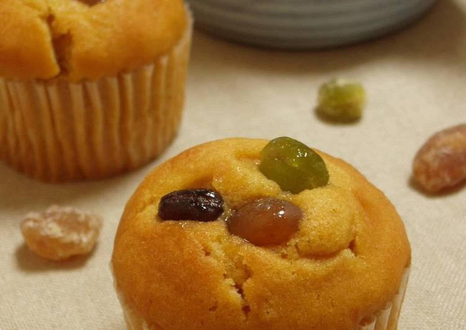 Rich Kinako Cupcakes