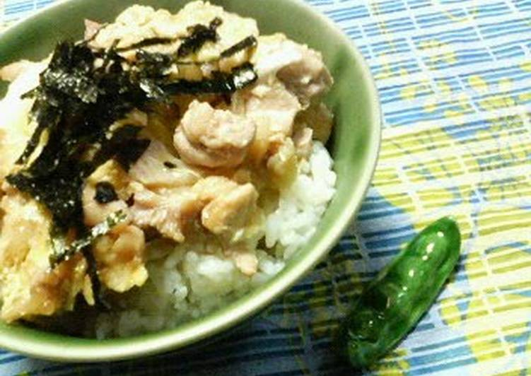 Our Familys Oyako-don Chicken and Egg Rice Bowl