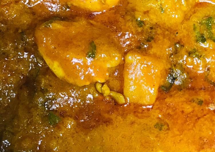 Spinach & chicken curry !!!