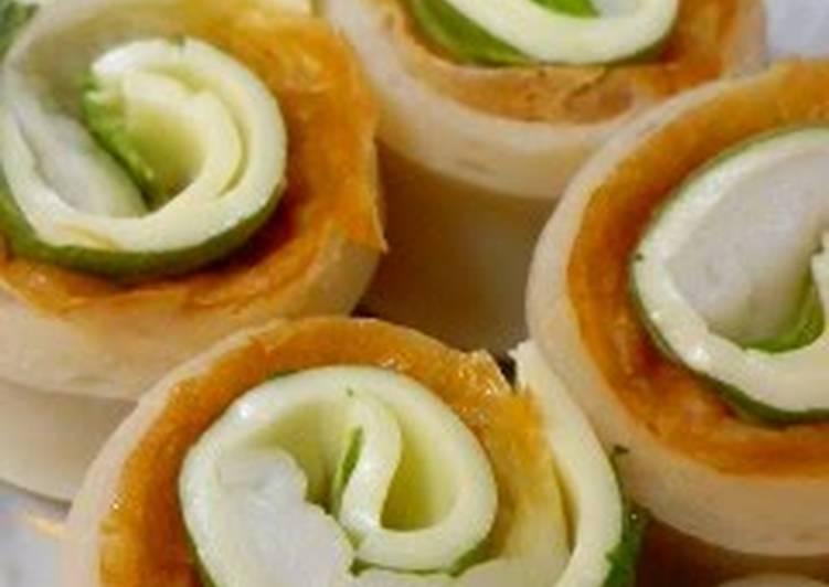 How to Make Speedy Chikuwa, Shiso, and Cheese Rolls