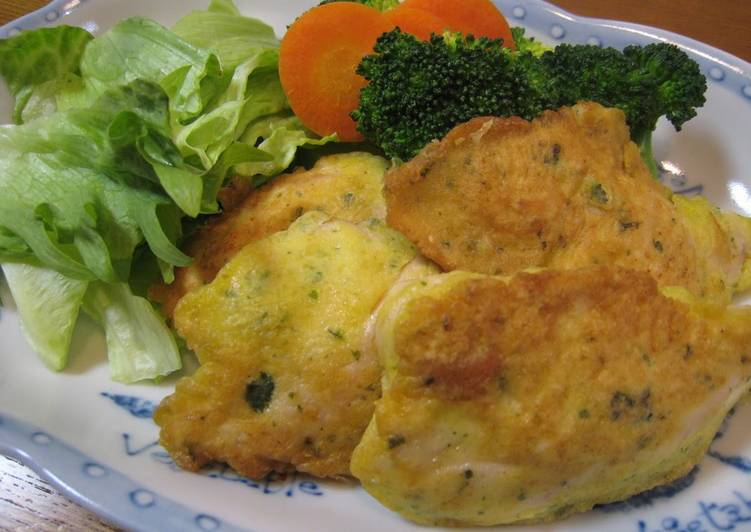 Tender Chicken Breast and Cheese Picatta