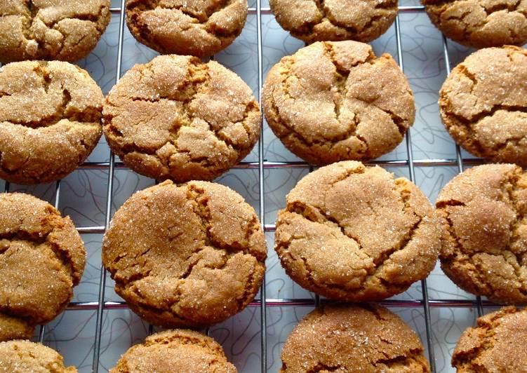 Grandma Ms Gingersnap Cookies