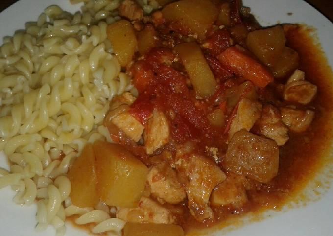 How to Prepare Favorite Chicken Paprikash