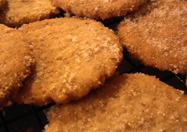 Pecan Cutout Cookies