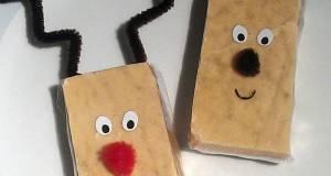Vickys Reindeer Christmas Gift Fudge/Tablet