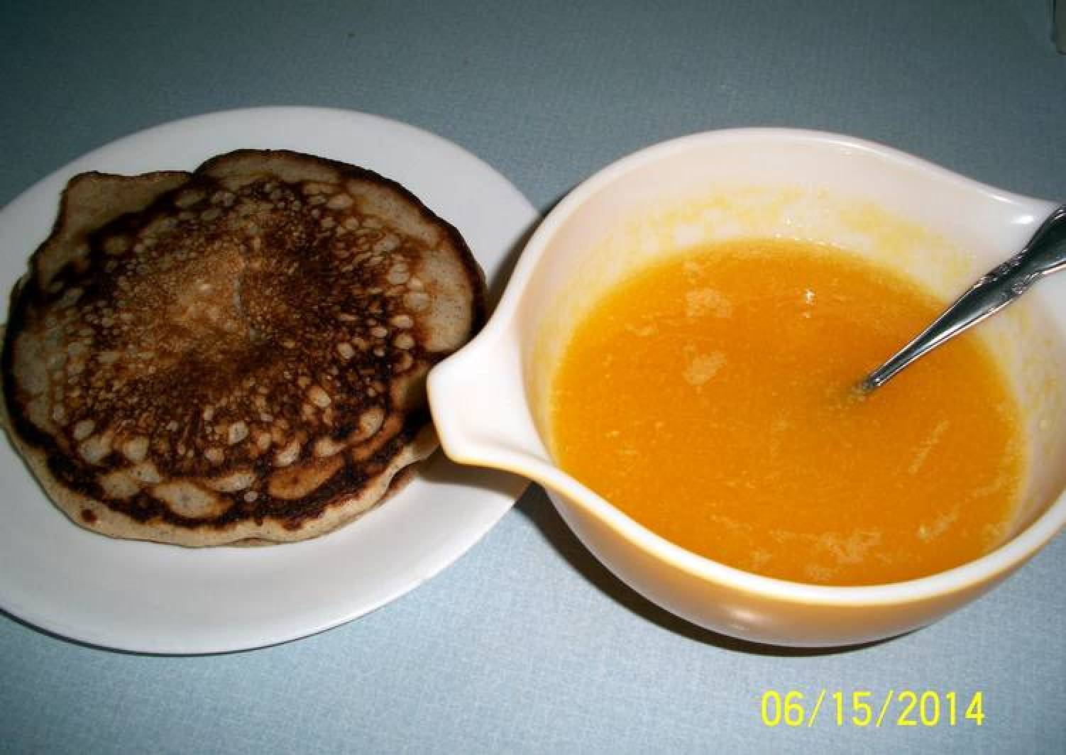 Orange sauce for pancakes and waffles