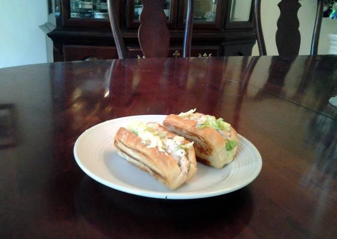 """Recipe of Bobby Flay Toasted Shrimp Salad """"Boats"""""""