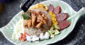 Thai Style Rice Salad / Kao Kruk Krapi