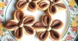 Beautiful flower cookies