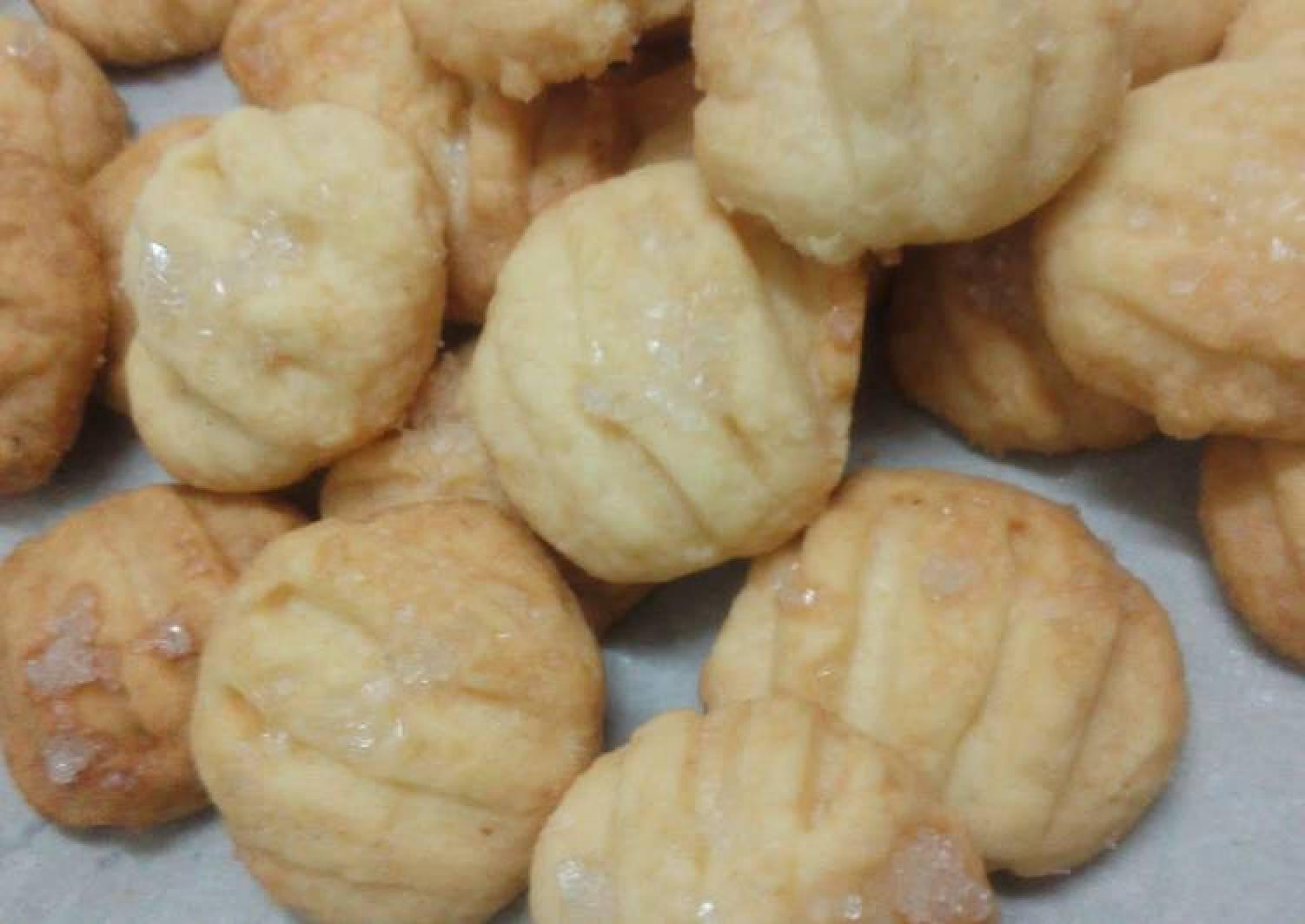 Mini Vanilla Butter Cookies