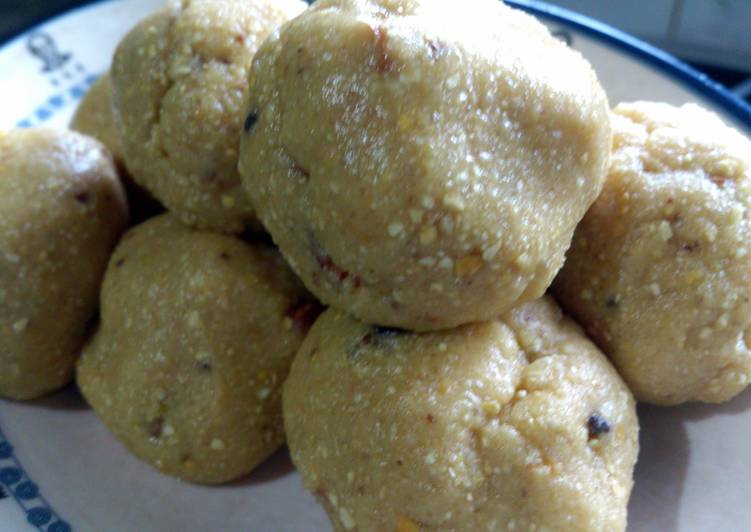 Maa laddoo (just another of those indian balls )