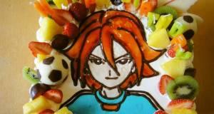 Game Character Cake Inazuma Elevens Motoyama Hiroto