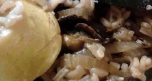 Zucchini Mushroom Rice Skillet