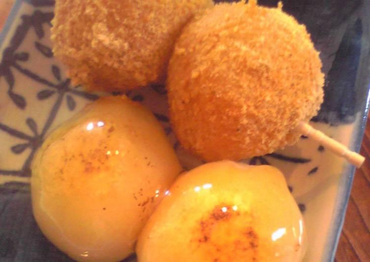 Easiest Way to Prepare Favorite Skewered Okara Dumplings