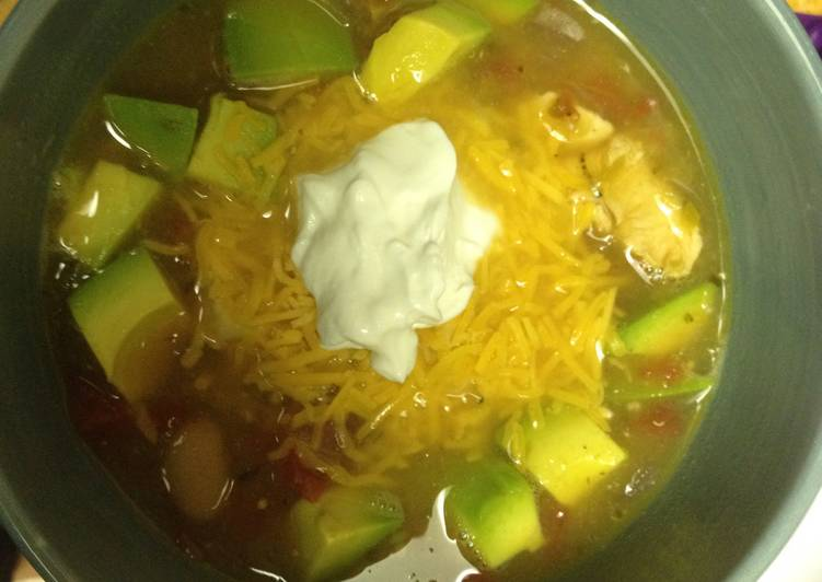 MamaLocks Mexican Chicken Soup / Chili, Finding Healthy Fast Food