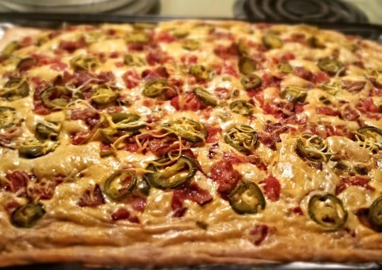 Jalapeo Popper Pizza